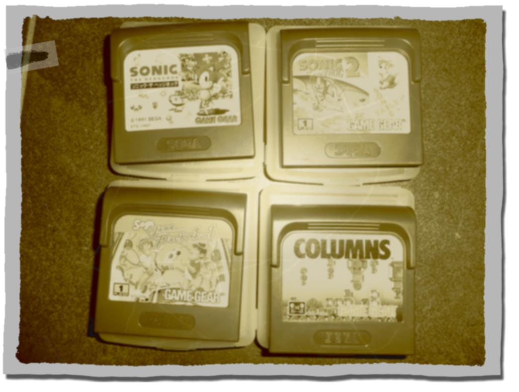 Jeux Game Gear