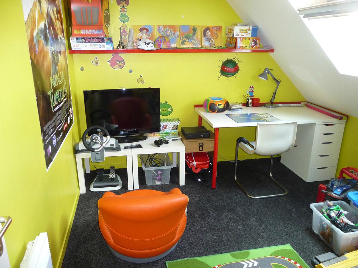 Chambre de geek