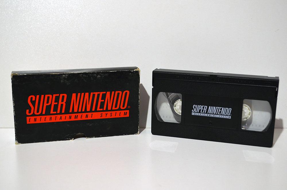 VHS promotionnelle Super Nintendo