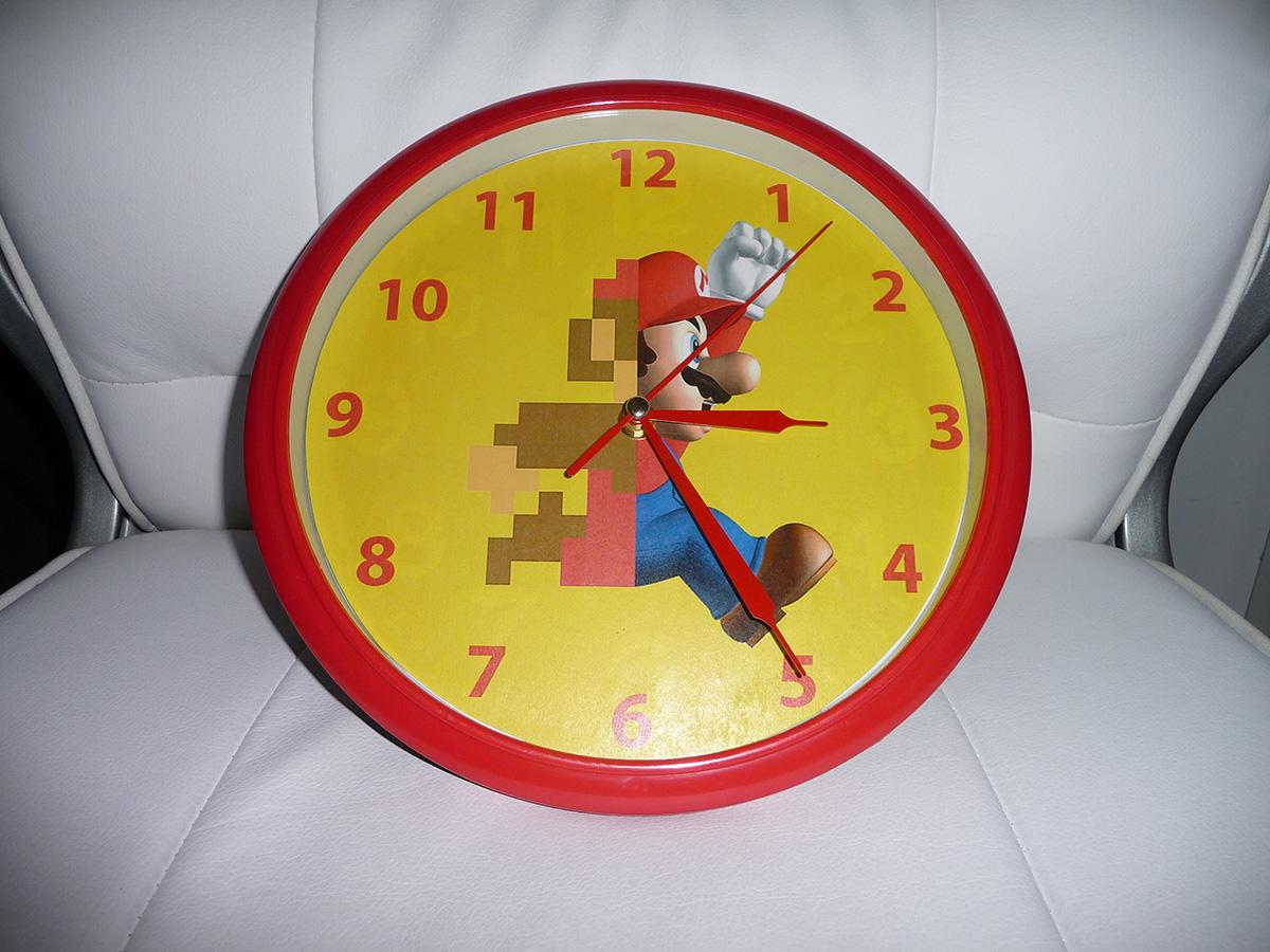 Horloge Super Mario