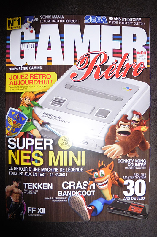 Magazine Video Gamer Rétro