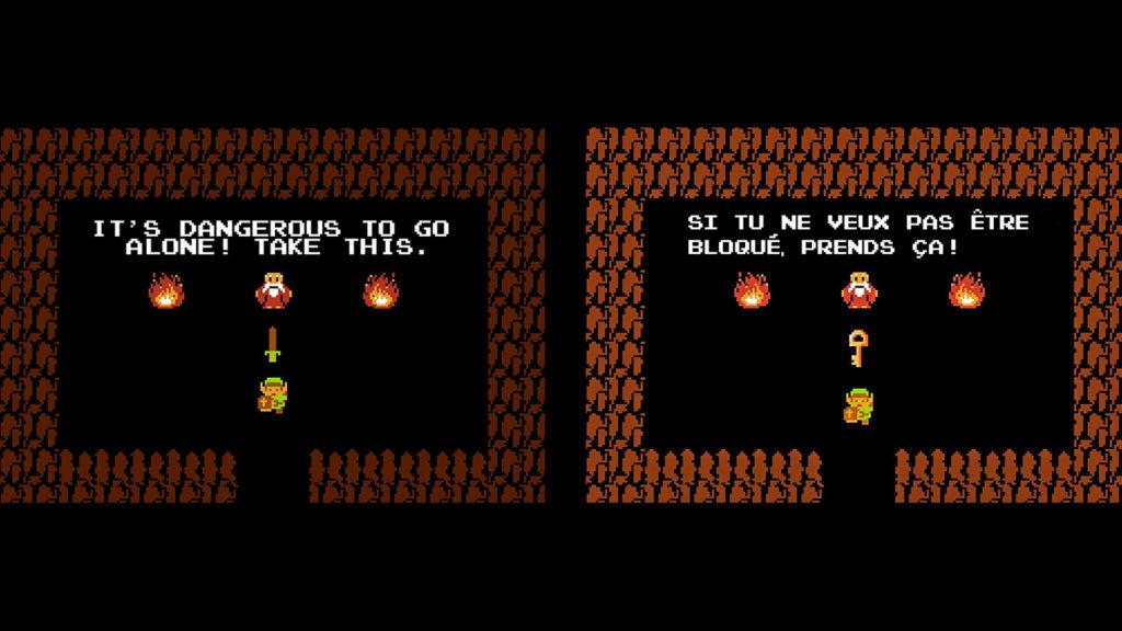 Porte clés mural Zelda
