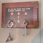Porte-clés mural Zelda. [Bricolage Geek.]