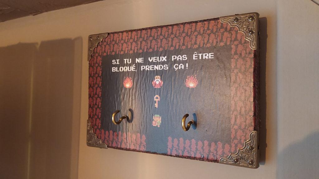 Porte-clés mural Zelda