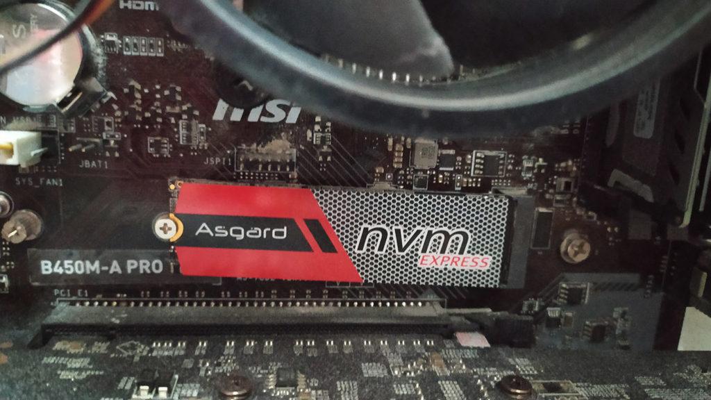 Disque dur Asgard SSD Nvme PCIe