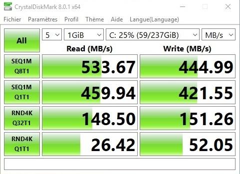 Disque dur Goldenfir SSD SATA3